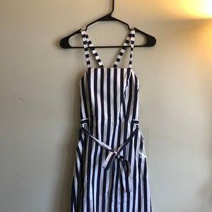 Apron dress by Thomas Mason by J Crew